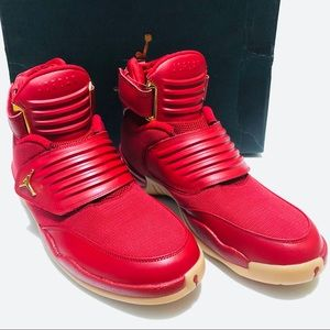 56757888b62964 Jordan Shoes - Air Jordan Generation 23 Varsity Red Gold Shoes 11